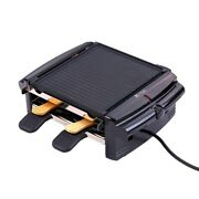 Electric Smokeless Bbq Grill Mini Reversible Griddle Barbecue Multifunctional