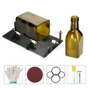 Glass Bottle Cutter With Accessories For Round Square Oval Bottles And Bottle