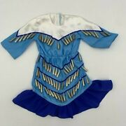 American Girl Doll Kaya Blue Jingle Dress Of Today For 18 Inch Doll - Dress Only