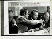 1973 Press Photo Dolph Briscoe And Other Governors Meet In New Orleans.