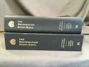 Reformation Study Bible Esv 2015 Black Leather Sproul Theology Commentary System