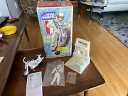 Original Box Complete 1973 Ideal2nd Ed. Evel Knievel Stunt Cycle Set Excellent