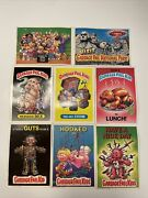 1986 Garbage Pail Kids Giant Cards Stickers Lot Of 8 Oversized Topps Cards
