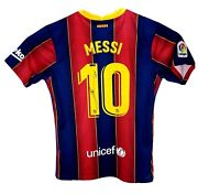 Lionel Leo Messi Hand Signed Autographed Barcelona Football Soccer Jersey Coa