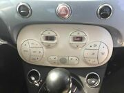 Temperature Control 2 Door Lounge White Face Plate Fits 12-17 Fiat 500 2836576