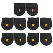 5 Pairs Rubber Heels Glue On Shoe Sole Repair Pad Replacement For Mens And