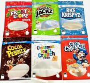 New Cereal Treats Resealable Favor Bags Cookie Packaging Bags Smell Proof