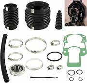 For Alpha One Gen 2 Bellow 30-803099t1 Transom Seal Repair Kit W/ Gimbal Bearing