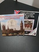 1982-1983 United Kingdom Uncirculated Coin Collection In 2 Sets