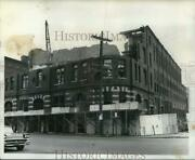 1961 Press Photo Demolition At Bartel's Brewery Building On Erie Boulevard West