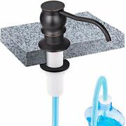 Sink Soap/lotion Dispenser And Extension Oil-rubbed Bronze-plastic Check Valve