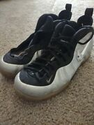 Nike Air Foamposite Pro Silver Surfer 616750 004 Mens 13 N56 Needs New Laces