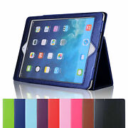 Smart Case For Ipad 8th 7th 10.2/6th 5th 9.7/mini/air Leather Stand Folded Cover