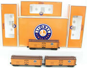 Lionel 6-11657 O Pacific Fruit Express Woodsided Reefer Set Of 3 Ln/box