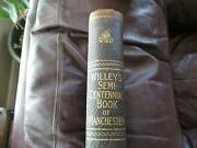 Willey's Semi-centennial Book Of Manchester New Hampshire - 1846-1896 Leather 11