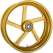 Performance Machine Wheel Pro-am 18 X 5.50 Front Gold Ops 12047814rprosmg