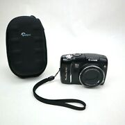 Canon Powershot Sx110 Is 9.0mp Digital Camera - Black, With New Case