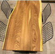Epoxy Table Top / Wooden Dining Table Top / Natural Wood Center Table Top Decor