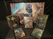 Legacy Of Kain Collectors Lot Scroll Actions Figure And Graphic Novels
