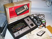 Vintage 70s Sears Engine Tune-up Tester Meter Auto Service Gm Street Rat Hot Rod