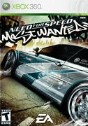 Need For Speed Most Wanted 2005 Xbox 360 Game