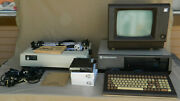 Vintage Icl Model 30 Personal Computer Monitor Kb Printer And Accessories