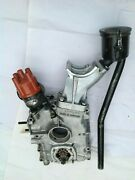 Porsche 356 Timing Cover Gearsbreather Tube And Cap Bosch Distributor