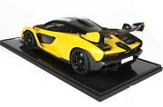 Official Bbr Mode Car Claren Senna Met Yellow 112 Limited Edition New