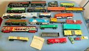 Lot Of Ho Scale Model Locomotive Engine Trains Mostly Bachmann Mostly Engines