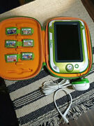 Leapfrog Leappad Xdi Ultra W/6 Games, Charger, Case And Cable