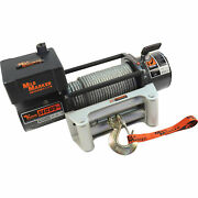 Mile Marker 12v Dc Powered Electric Jeep/truck/suv Winch 9,500lb Cap