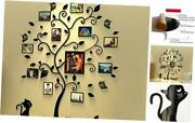 3d Acrylic Wall Stickers Photo Frames Familytree Wall Decal Easy Large Black