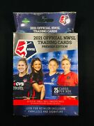 2021 Official Nwsl Trading Cards Premier Edition Hanger Box Womens Soccer Sealed
