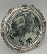 Gorham Sterling Silver Table Mirror Special Order