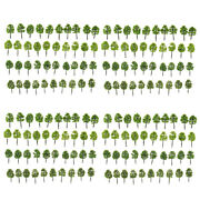 Pack / 160pcs Model Trees 1 250 Z Scale Layout Train Scenery With