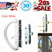 Patio Door Handle Set + Mortise Lock 45° Perfect Replacement For Sliding Glas...