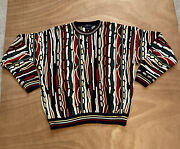 Vintage Cotton Traders Coogi Style Sweater Mens Size Xl