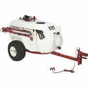 Northstar 101gal. Tow-behind Trailer Boom Broadcast And Spot Sprayer-7gpm 12vdc