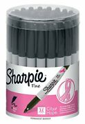 Sharpie Permanent Markers Fine Point Black Pink Ribbon Edition 36 Count