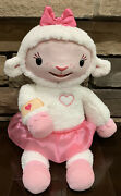 Doc Mcstuffins Take Care Of Me Lambie Interactive Talks And Sings Plush