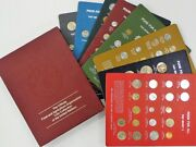 Fao 8 Panel Set Of 146 Coins All Panels In Original Packaging 1968 - 1978