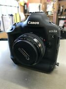 Canon Eos 1d X 18.1mp Digital Slr Camera Body And Lens 50mm