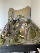 Complete N Scale Railroad Layout Southwest Pennsylvania Coal Country