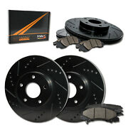 [front + Rear] Max Brakes Elite Xds Rotors With Carbon Ceramic Pads Kt179883-1