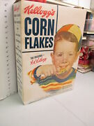 Cereal Box 1950s Kelloggand039s Large Store Display Norman Rockwell Boy Rice Krispies
