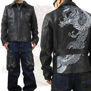 Script Flower Travel Orchestra Slrj-006 Riders Jacket With Dragon Pattern