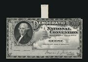 5 Political Convention Die Proof Cards. All Engraved All Die Proof
