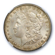 1894 S 1 Morgan Dollar Ngc Ms 63 Uncirculated Toned Exceptional Strike