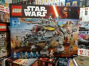 Lego 75157 Star Wars Rebels Captain Rexand039s At-te New Retired 2016 Clone Wolffe