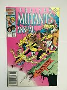 The New Mutants Annual 2 - 1986 - Vf+ Newsstand Edition